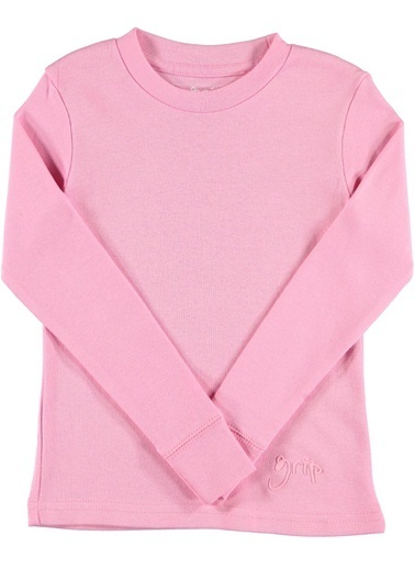 Grip Sweatshirt Pembe